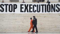 Protesta contra la pena de muerte en Estados Unidos. (Foto: AFP)