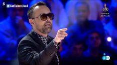 Penúltimo enfado de Risto Mejide en la tercera semifinal de 'Got Talent España'
