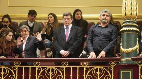 Juan Carlos Quer y Juan José Cortés en el Congreso.