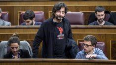 Rafael Mayoral, diputado de Podemos encargado de Vivienda. (Foto: Podemos)