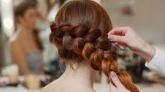 Pasos para hacer recogidos para pelo largo