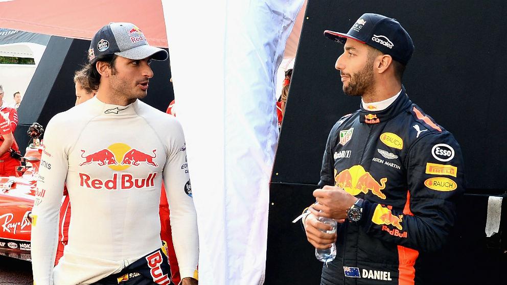 Carlos Sainz, que sigue bajo contrato con Red Bull, podría ser el sustituto de Daniel Ricciardo en el equipo austriaco si éste decidiera no renovar su contrato. (Getty)
