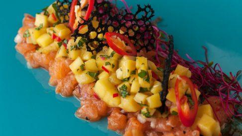 Receta de tartar de atún y mango: un entrante fácil de preparar