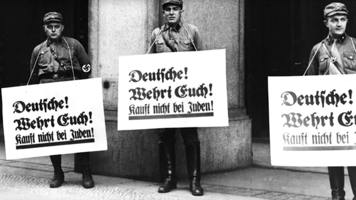 Imagen de promoción del documental «12 de octubre: cultura de odio y legítima autodefensa», que hoy emite Canal 33.