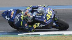 Valentino Rossi, a pesar de las dificultades que ha experimentado su Yamaha durante la pretemporada, espera mostrar el nivel necesario para pelear por el título mundial de MotoGP. (Getty)