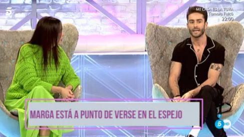Adiós a la paz entre Cristina y Pelayo en 'Cámbiame'