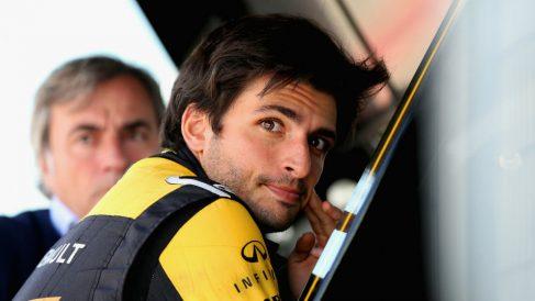 Carlos Sainz espera permanecer en Renault bastantes años, fijando en 2020 la clave para empezar a pelear por victorias y el título de la mano del equipo francés. (Getty)
