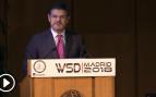 El ministro de Justicia, Rafael Catalá, en el World Summit Detectives 2018.