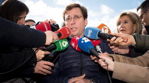 José Luis Martínez Almeida, portavoz del Grupo Popular en el Ayuntamiento de Madrid. (Foto: EFE)