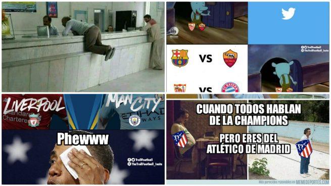 Los mejores memes del sorteo de cuartos de la Champions