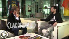Leo Messi habló en Argentina sobre su carrera.