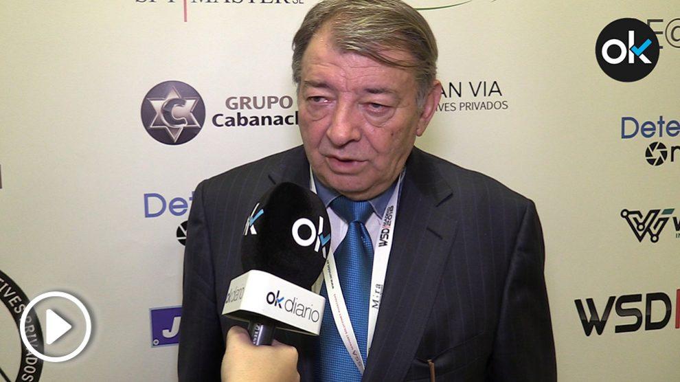 José Pimentel, presidente del Comité organizador del World Summit Detectives 2018 (Vídeo: Alix Guereca).