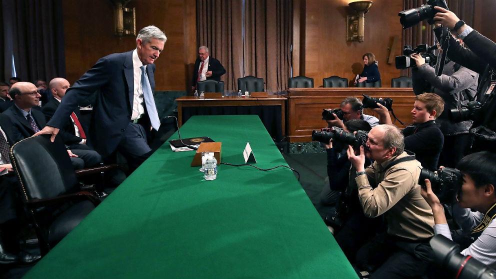 El presidente de la Fed, Jerome Powell (Foto: GETTY).