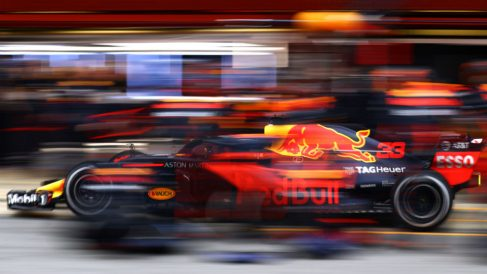 Red Bull valora muy seriamente empezar a utilizar los motores Honda en 2019, dando por finalizada una turbulenta relación con Renault que se ha deteriorado desde el comienzo de la era híbrida en la Fórmula 1. (Getty)
