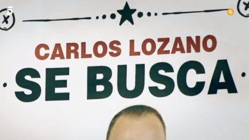 Carlos Lozano se enfrenta el polígrafo en 'Sálvame Deluxe'