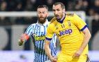La Juventus pierde dos puntos y a Chiellini