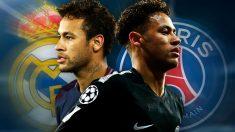 Neymar, estrella del PSG, es el gran objetivo del Real Madrid para la próxima temporada.