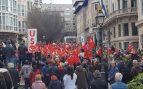 Crispación en Palma por la presencia de políticos en la manifestación por las pensiones