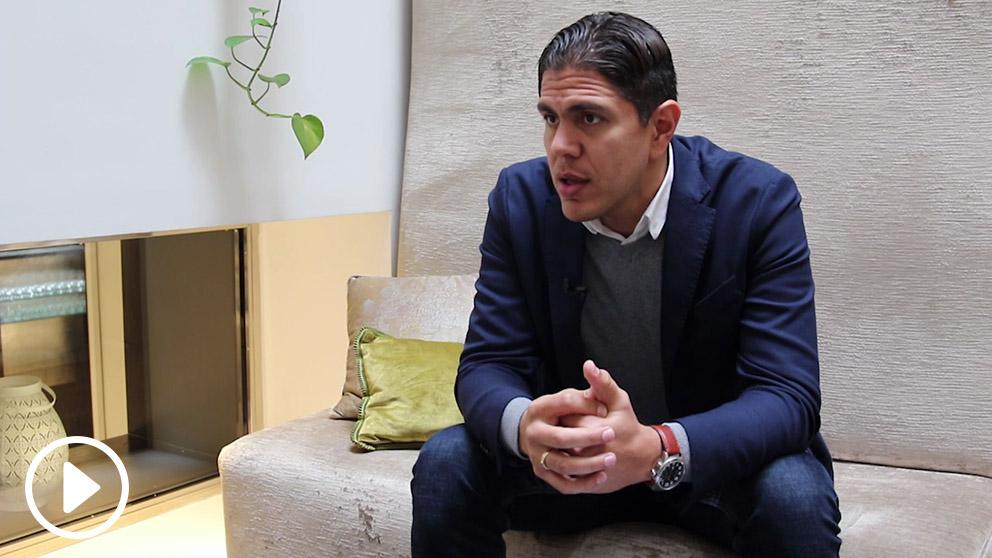 Lester Toledo, perseguido por la dictadura de Nicolás Maduro, diputado y portavoz del Frente Amplio Venezuela Libre. (Foto: OKD)