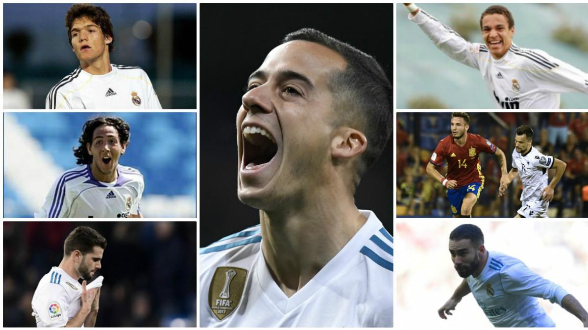Gran presencia de madridistas en la Selección de Lopetegui. (AFP)