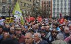 Manifestación sobre las pensiones. Foto: FRANCISCO TOLEDO