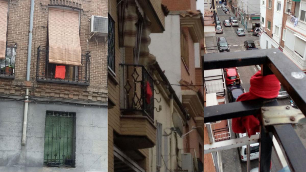 La campaña #atodotrapo denuncia el horror de vivir cerca de los llamados 'narcopisos'. Fotos: Twitter