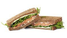 Receta de sándwich de salmón fácil de preparar