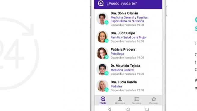 Lanzan una app que permite realizar consultas médicas a través del smartphone