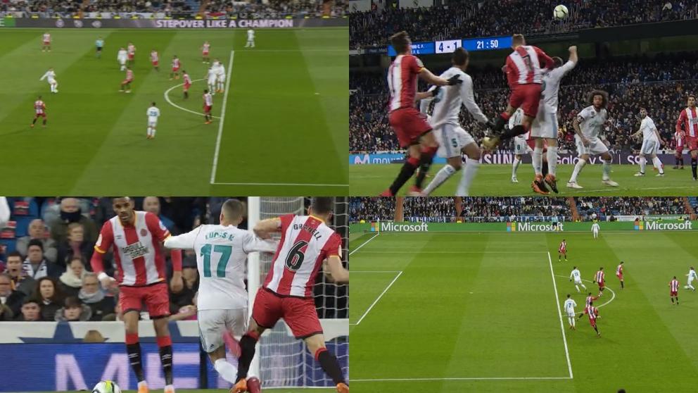 Todas las polémicas del Real Madrid – Girona.