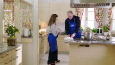 Tamara Falcó cocina con Bertín en 'Mi casa es la tuya' (Foto: Telecinco).