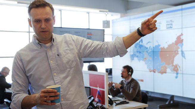 Detenido el opositor ruso Navalni