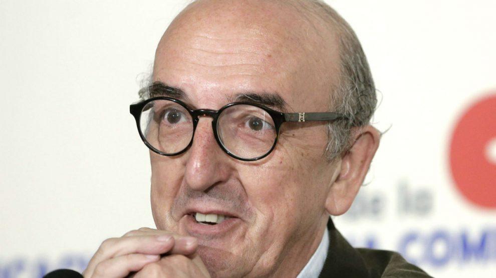 El millonario Jaume Roures, presidente del grupo Mediapro y dueño del diario podemita 'Público'.