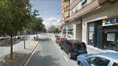 Avenida de Francesc Macià de Tarrasa, donde se produjo el suceso.