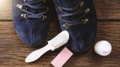 Pasos para limpiar zapatos de ante de forma fácil