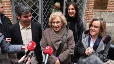 García Castaño, Carmena, Maestre y Causapié. (Foto. Madrid)