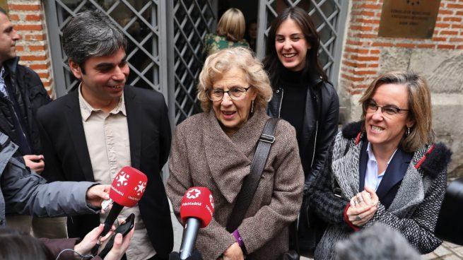 Carmena castiga en sus nuevos Presupuestos las partidas de limpieza, Policía y cultura