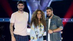Orozco, Melendi y Rosario en 'La Voz Kids 4'. (Foto: Telecinco)