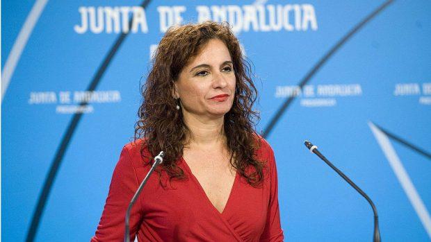 María Jesús Montero, hasta ahora consejera de Hacienda de la Junta de Andalucía.