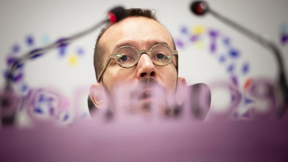 Pablo Echenique, secretario de Organización de Podemos. (Foto: EFE)