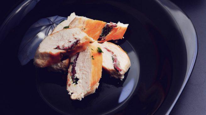 receta de pechuga de pavo relleno al horno jugoso