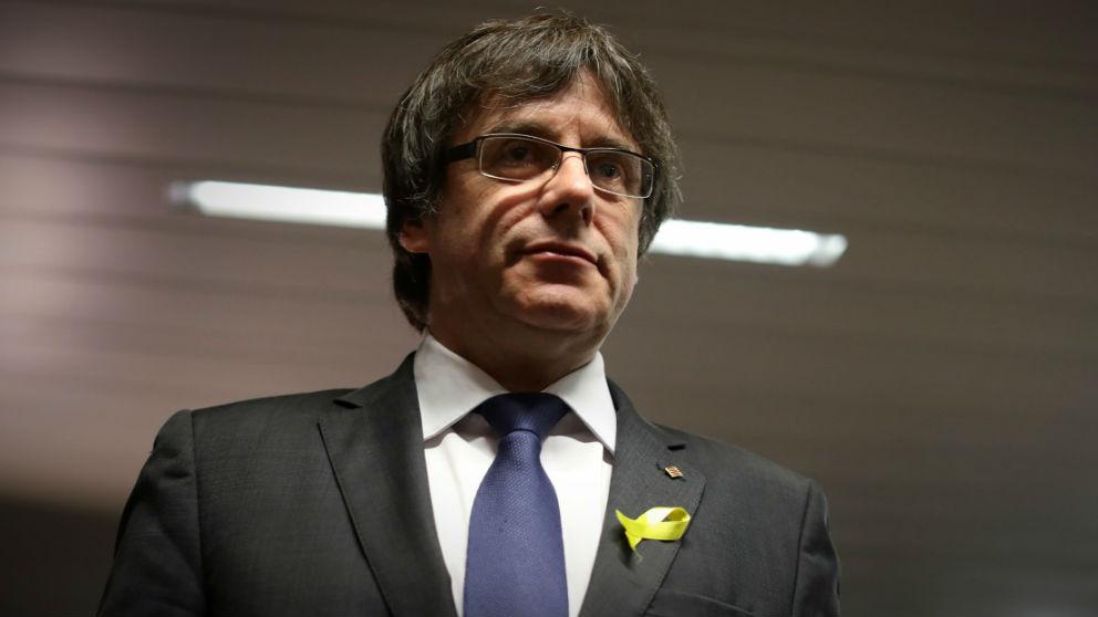 Carles Puigdemont, ex presidente catalán.