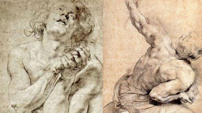 El pintor flamenco Pedro Pablo Rubens usaba multitud de bocetos para estudiar posturas de cara a su posterior trabajo.