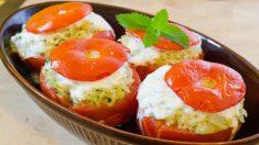 Receta de tomates rellenos de arroz fácil y deliciosa