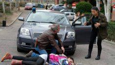Nacha atropella a una adolescente en 'Servir y proteger'