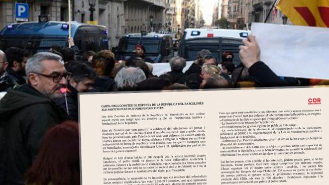 Los CDR retan a los partidos separatistas: «Nosotros estamos preparados ¿y vosotros?»