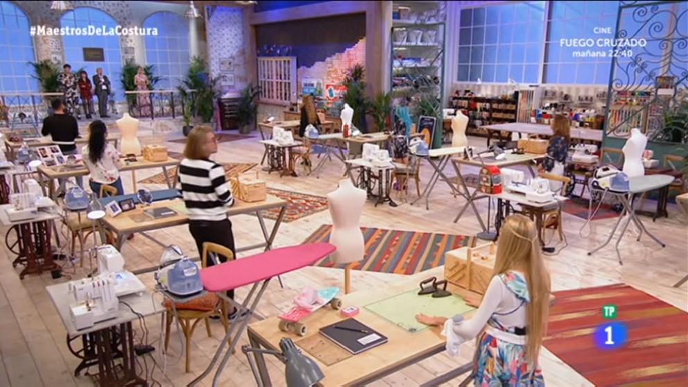39 maestros de la costura 39 anna abandona el taller tras la for Taller de costura madrid