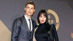 Cristiano Ronaldo junto a Georgina en los Premios de Portugal (Instagram)