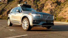 Un vehículo autónomo de Uber