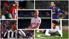 Los futbolistas más rentables según un estudio del CIES. (AFP/Getty Images)