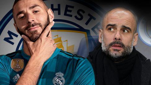 Karim Benzema es un jugador muy del gusto de Pep Guardiola.